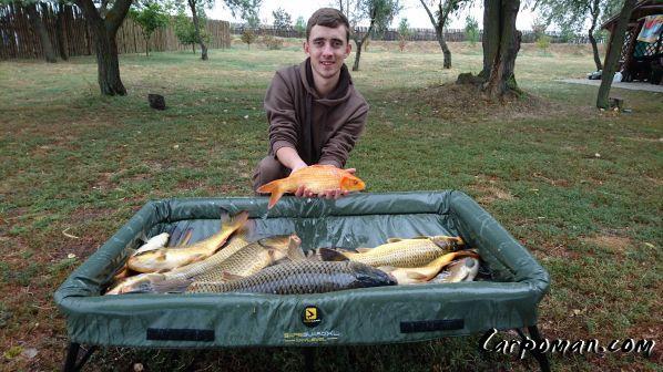 Рыбалка на хуторе ведерников