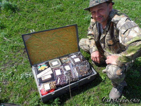 чемодан - Карповая рыбалка в Украине.