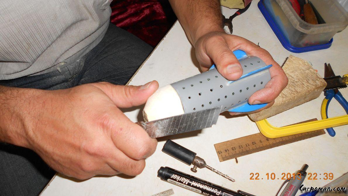 Как сделать прикормочную ракету своими руками