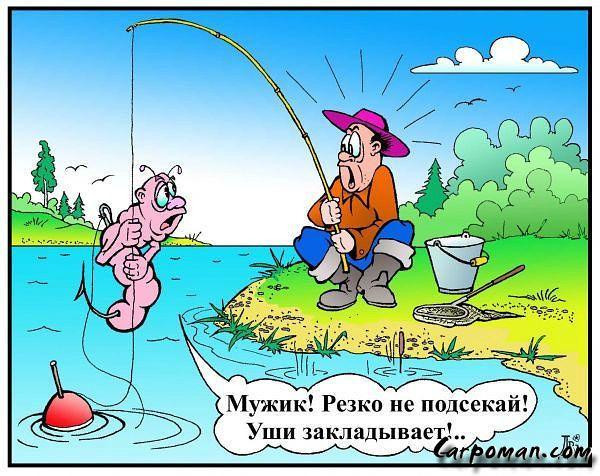 рассказ про интересный случай на рыбалке