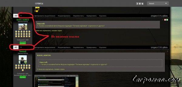 97d7feeee7f7 Вопросы по размещению информации на сайте — Карповая рыбалка в ...