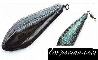 рыболовное грузило для сильного течения